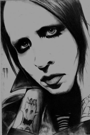 Marilyn Manson by ksnake